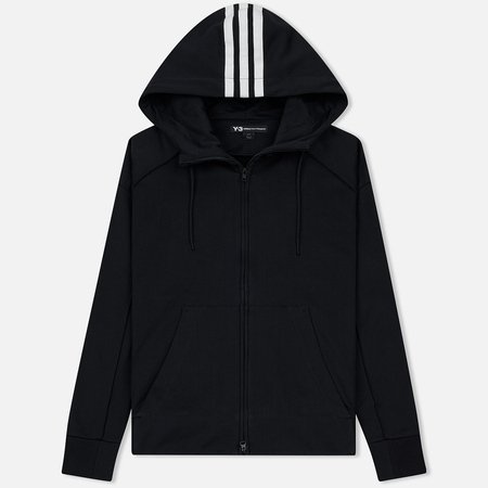 Мужская толстовка Y-3 Signature Graphic Full Zip Hoodie Black