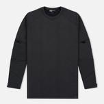 Мужская толстовка Y-3 Tech Fleece Black фото- 0