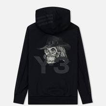 Мужская толстовка Y-3 Yohji Skull Hoodie Black фото- 1