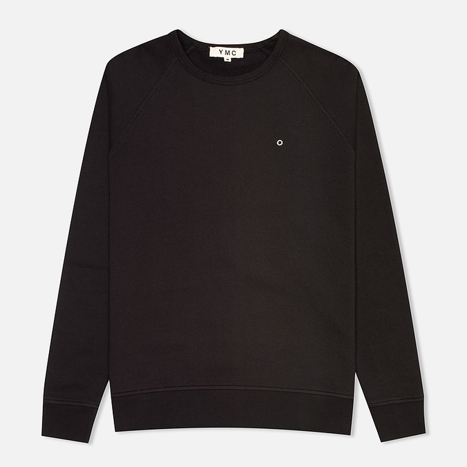 YMC Raglan Men's Sweatshirt Black