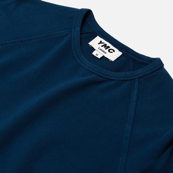 Мужская толстовка YMC Schrank Raglan Loopback Blue