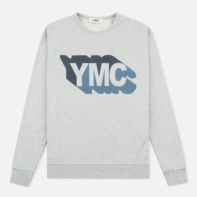 Мужская толстовка YMC Shadow Logo Grey