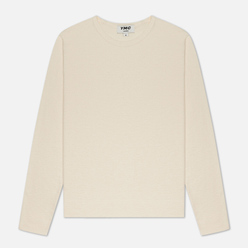 Мужская толстовка YMC X Solid Reverse Side Jersey Ecru