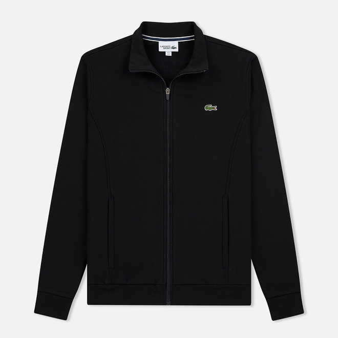 Мужская толстовка Lacoste Sport Zip-Up Fleece Black