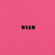 Мужская толстовка MSGM Micro Logo Print MSGM Fuchsia фото- 2