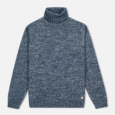 Armor-Lux Heritage Turtle Neck Voilier Men's Turtleneck Blue