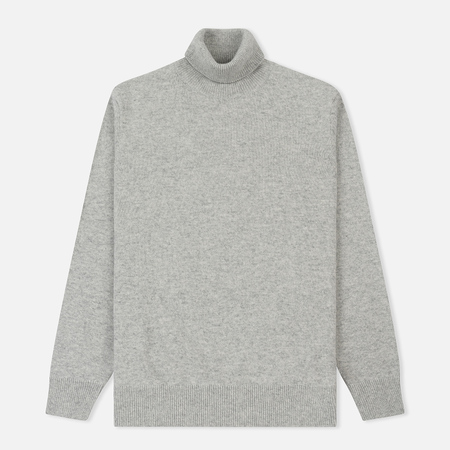 Мужская водолазка Barbour Leahill Roll Neck Light Grey