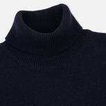 Мужская водолазка Barbour Leahill Roll Neck Navy фото- 1