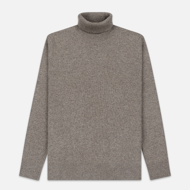 Мужская водолазка Barbour Leahill Roll Neck Neck Stone
