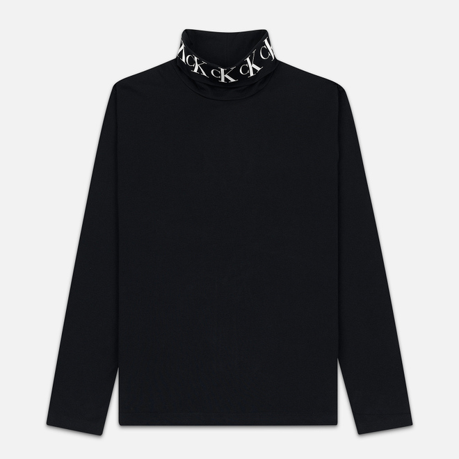 Мужская водолазка Calvin Klein Jeans Neck Logo Black
