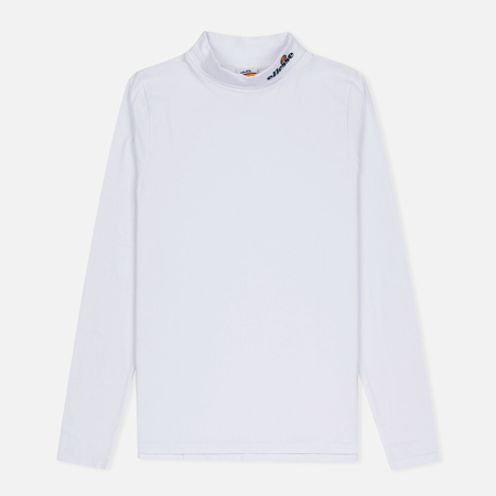Ellesse Amico Roll LS Neck Men's Longsleeve Optic White