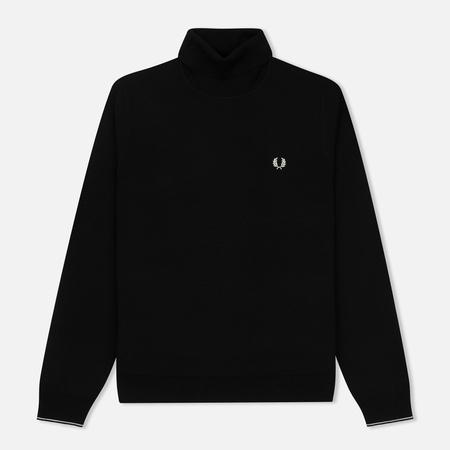 Мужская водолазка Fred Perry Classic Merino Roll Neck Knit Black