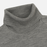 Мужская водолазка Fred Perry Classic Merino Roll Neck Knit Steel Marl фото- 1