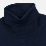 Мужская водолазка Fred Perry Merino Roll Neck Carbon Blue Marl фото- 1