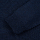 Мужская водолазка Fred Perry Merino Roll Neck Carbon Blue Marl фото- 2