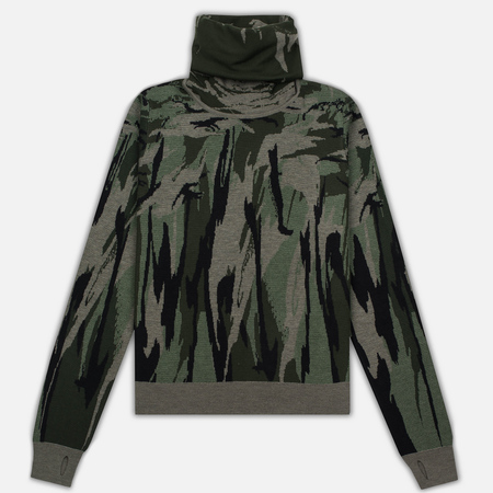 Мужская водолазка maharishi British Bonsai Ninja Roll Neck Jungle Camouflage