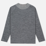 Мужской свитер Nanamica High Neck Thermal Heather Gray фото- 0