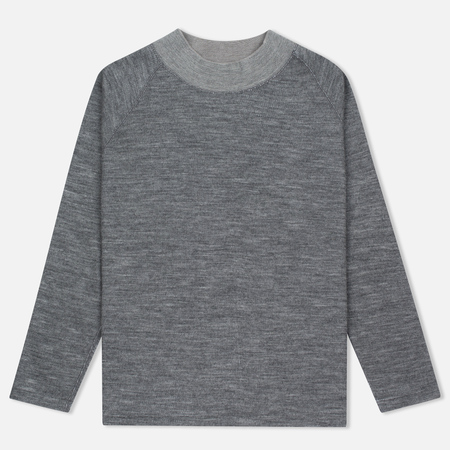 Мужская водолазка Nanamica High Neck Thermal Heather Gray