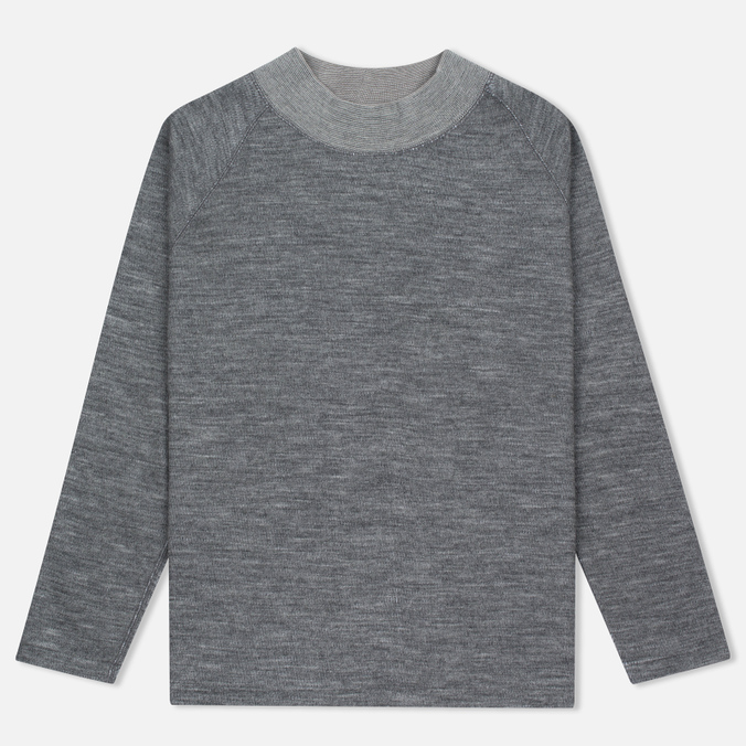 Мужской свитер Nanamica High Neck Thermal Heather Gray