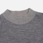 Мужской свитер Nanamica High Neck Thermal Heather Gray фото- 1