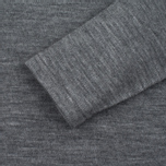 Мужской свитер Nanamica High Neck Thermal Heather Gray фото- 2