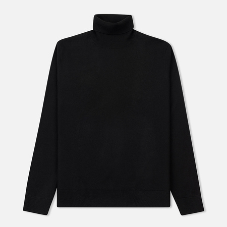 Мужская водолазка Norse Projects Marius Boiled Wool Black