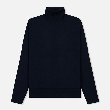 Мужская водолазка Norse Projects Marius Boiled Wool Navy