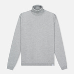 Мужская водолазка Norse Projects Marius Merino Light Grey Melange фото- 0