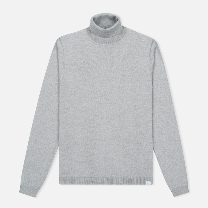 Мужская водолазка Norse Projects Marius Merino Light Grey Melange