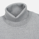 Мужская водолазка Norse Projects Marius Merino Light Grey Melange фото- 1