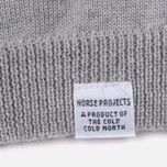 Мужская водолазка Norse Projects Marius Merino Light Grey Melange фото- 3