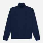 Мужская водолазка Norse Projects Marius Merino Principle Blue фото- 0