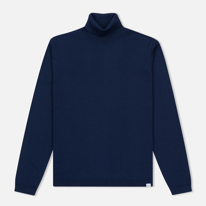 Мужская водолазка Norse Projects Marius Merino Principle Blue