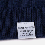 Мужская водолазка Norse Projects Marius Merino Principle Blue фото- 3