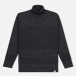 Мужская водолазка Norse Projects Skagen Roll Neck Wool Charcoal фото- 0