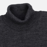 Мужская водолазка Norse Projects Skagen Roll Neck Wool Charcoal фото- 1
