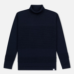 Мужская водолазка Norse Projects Skagen Roll Neck Wool Navy фото- 0