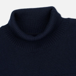 Мужская водолазка Norse Projects Skagen Roll Neck Wool Navy фото- 1