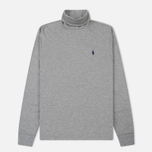 Мужская водолазка Polo Ralph Lauren Classic Turtle Neck Soft Touch Andover Heather фото- 0