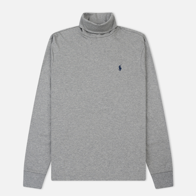 Мужская водолазка Polo Ralph Lauren Classic Turtle Neck Soft Touch Andover Heather