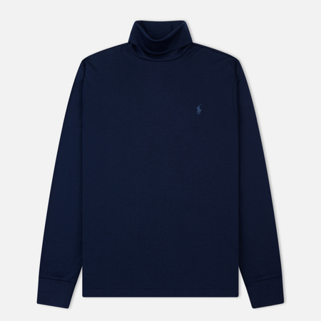 Мужская водолазка Polo Ralph Lauren Classic Turtle Neck Soft Touch French Navy
