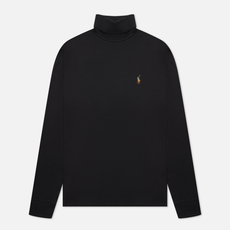 Мужская водолазка Polo Ralph Lauren Signature Embroidered Pony Black