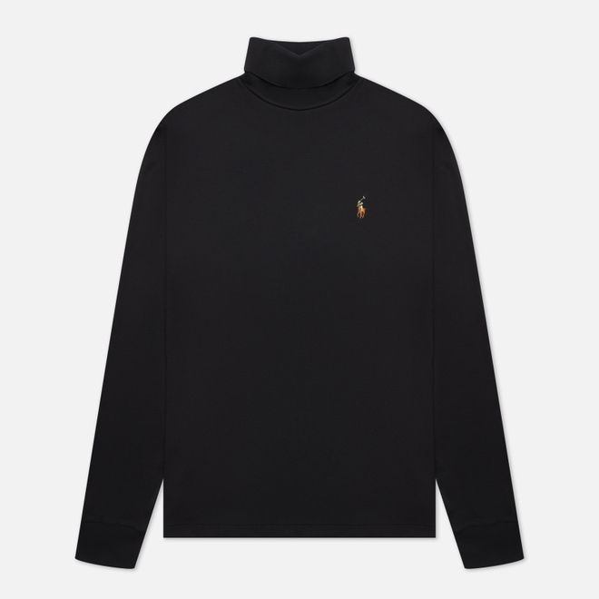 Мужская водолазка Polo Ralph Lauren Signature Embroidered Pony Black