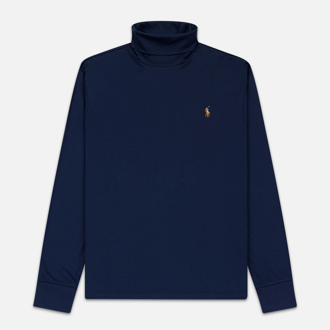 Мужская водолазка Polo Ralph Lauren Signature Embroidered Pony French Navy