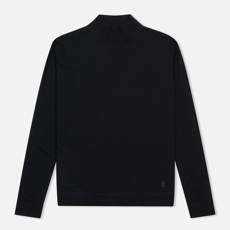 Мужская водолазка Pringle of Scotland Merino Solid Mock Neck Black