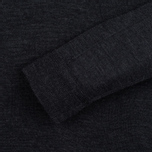 Мужская водолазка Pringle of Scotland Merino Solid Mock Neck Charcoal фото- 2