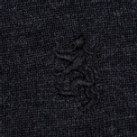 Мужская водолазка Pringle of Scotland Merino Solid Mock Neck Charcoal фото- 3