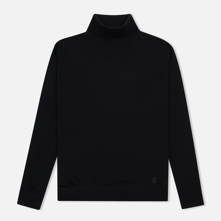 Мужская водолазка Pringle of Scotland Merino Solid Roll Neck Black