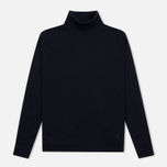 Мужская водолазка Pringle of Scotland Merino Solid Roll Neck Midnight фото- 0