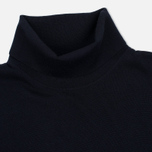 Мужская водолазка Pringle of Scotland Merino Solid Roll Neck Midnight фото- 1